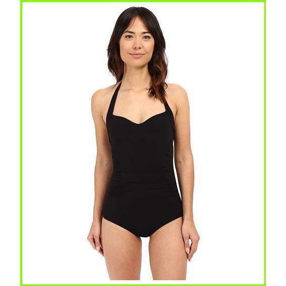 JETS by Jessika Allen Tailored to Suit Boyleg One-Piece Swimsuit JETS by Jessika Allen One Piece Swimsuits WOMEN レディース Black