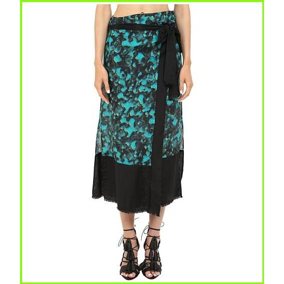 Proenza Schouler Wrap Skirt Pareo プロエンザスクーラー Cover Ups WOMEN レディース Turquoise