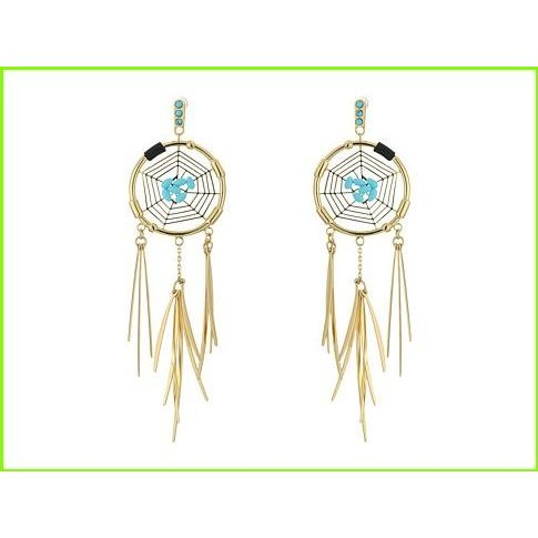 【50%OFF】 Rebecca Minkoff Small Dream Catcher Earrings WOMEN Earrings レベッカミンコフ Small Drop Earrings WOMEN レディース Gold/Turquoise, 一ノ宮町:5dae0748 --- airmodconsu.dominiotemporario.com