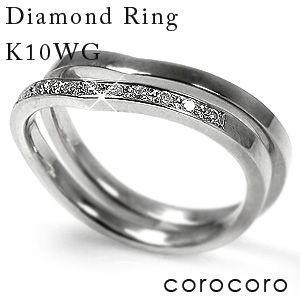 【受注生産品】 シンプル数付き2本セット天然ダイヤモンドリング指輪ホワイトゴールド, アンナのお店:f5c5a606 --- photoboon-com.access.secure-ssl-servers.biz