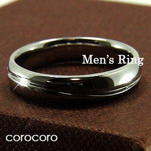 高質 メンズプラチナリング指輪 シンプル男性用リング, オリジナルギフト贈る酒 b07006b3