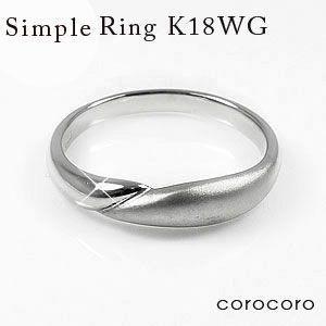 人気商品の ファッションリングK18ホワイトゴールド指輪女性用マリッジリング, 35PLUS-家具の35プラス-:b55456b0 --- sonpurmela.online