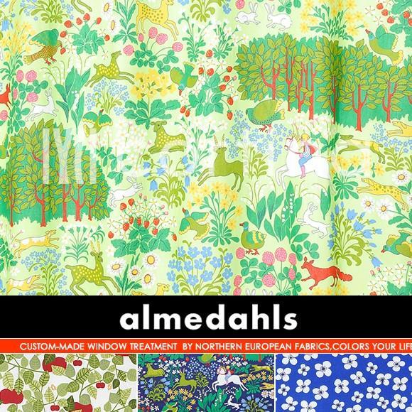 北欧生地almedahls アルメダール プレーンシェード 幅241〜270cmまで×丈151〜200cmまで