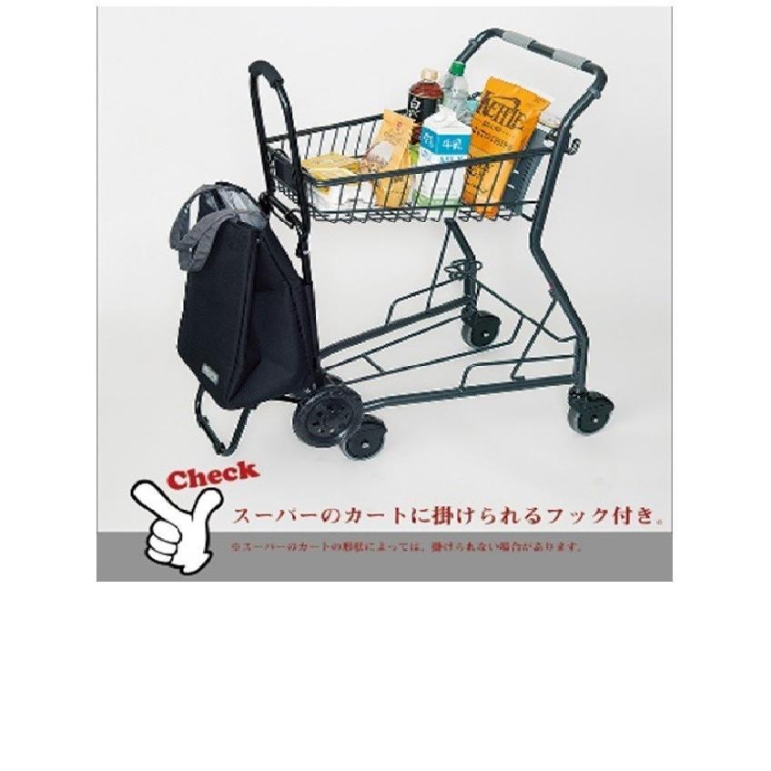 レップ COCORO(コ・コロ) ショッピングカート トート カートセット ベージュ/カーキ 464809|coserekuto|05