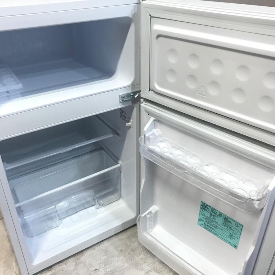 中古 85L 2ドア冷蔵庫 ハイアール コンパクト JR-N85A 2017年製 直冷式 高年式|cosmo-space|04