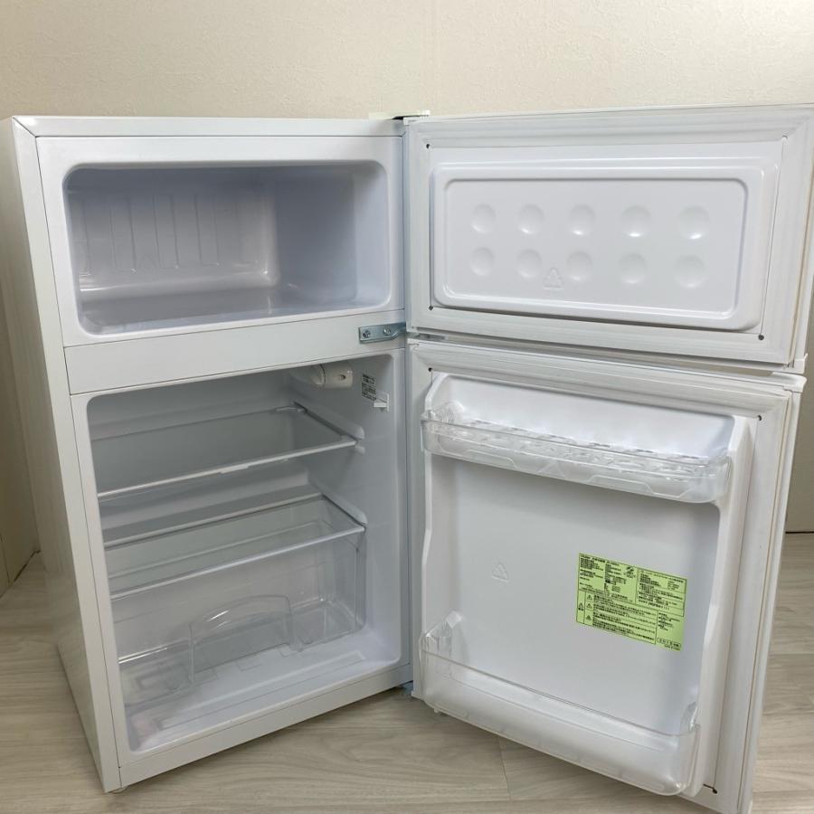中古 2ドア冷蔵庫 ハイアール 85L JR-N85A 2014年〜2017年製造 コンパクト 直冷式 おまかせセレクト|cosmo-space|04