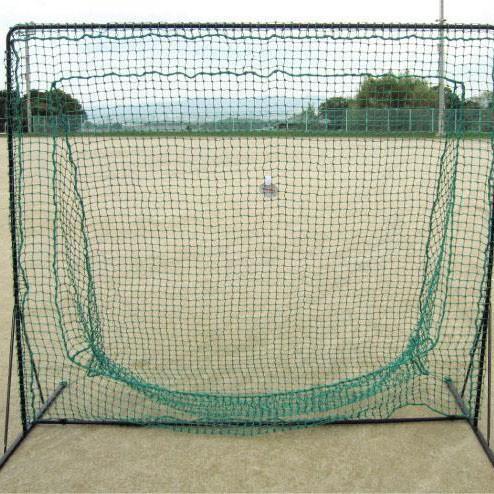 BX77-84セミワイドネット ミスターティーネット野球練習 硬式対応 バッティングネット ソフトボール 野球 ティーバティング用ネット