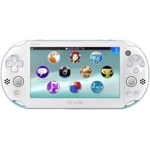 PlayStation Vita Wi-Fiモデル ライトブルー/ホワイト (PCH-2000ZA14)メーカー生産終了