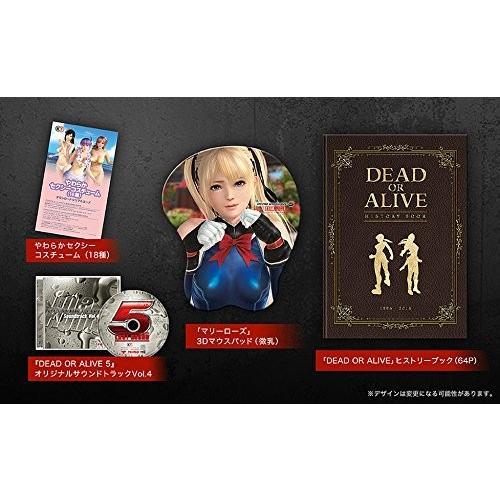 DEAD OR ALIVE 5 Last Round コレクターズエディション 初回封入特典(ダウンロードシリアル)付 - PS4