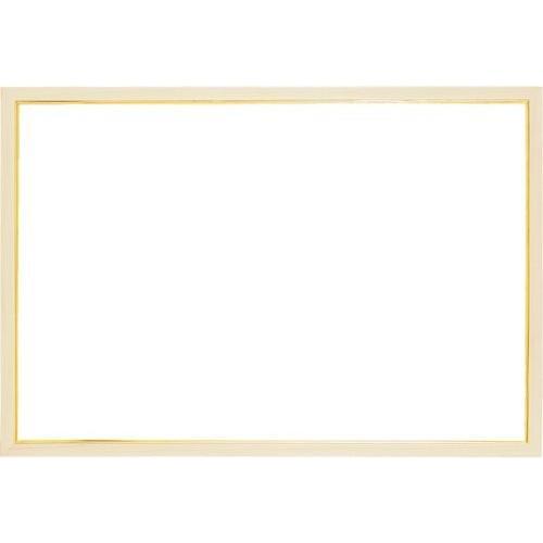 木製パズルフレーム ウッディーパネルエクセレント ゴールドライン ナチュラル (50x75cm)