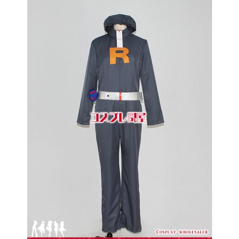 ポケットモンスター(POCKET MONSTERS・ポケモン) ロケット団したっぱ コスプレ衣装