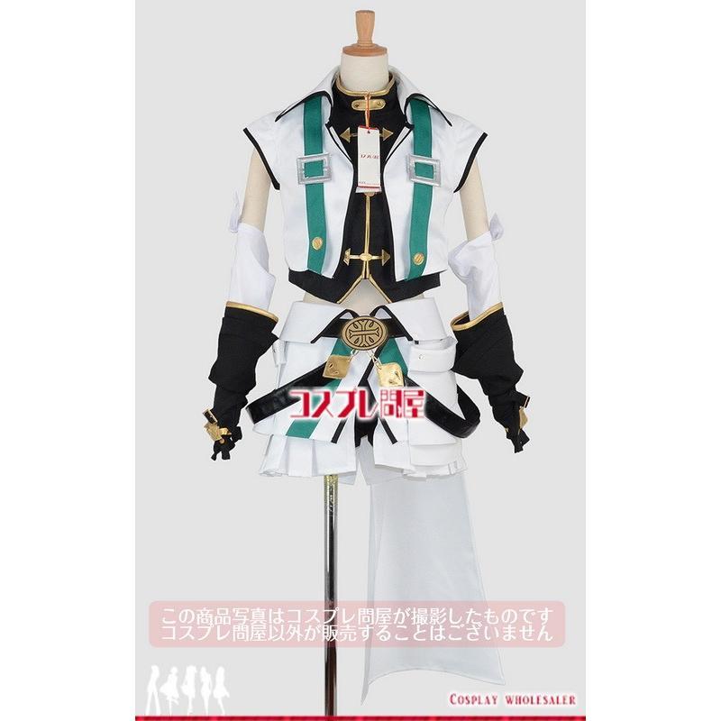 ViVid Strike!(魔法少女リリカルなのはシリーズ) フーカ・レヴェントン バリアジャケット 手袋付き コスプレ衣装 [2755]