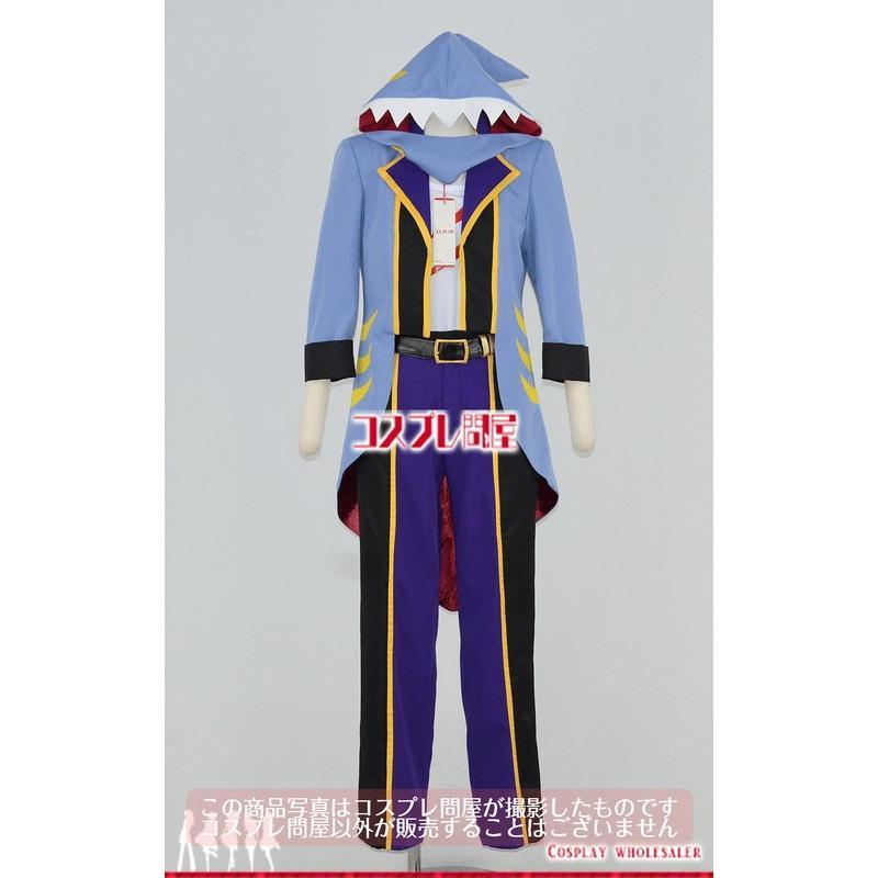 THE IDOLM@STER SideM(Mマス) 握野英雄 アクアリウム R+ 頭飾り付き コスプレ衣装 [3134]