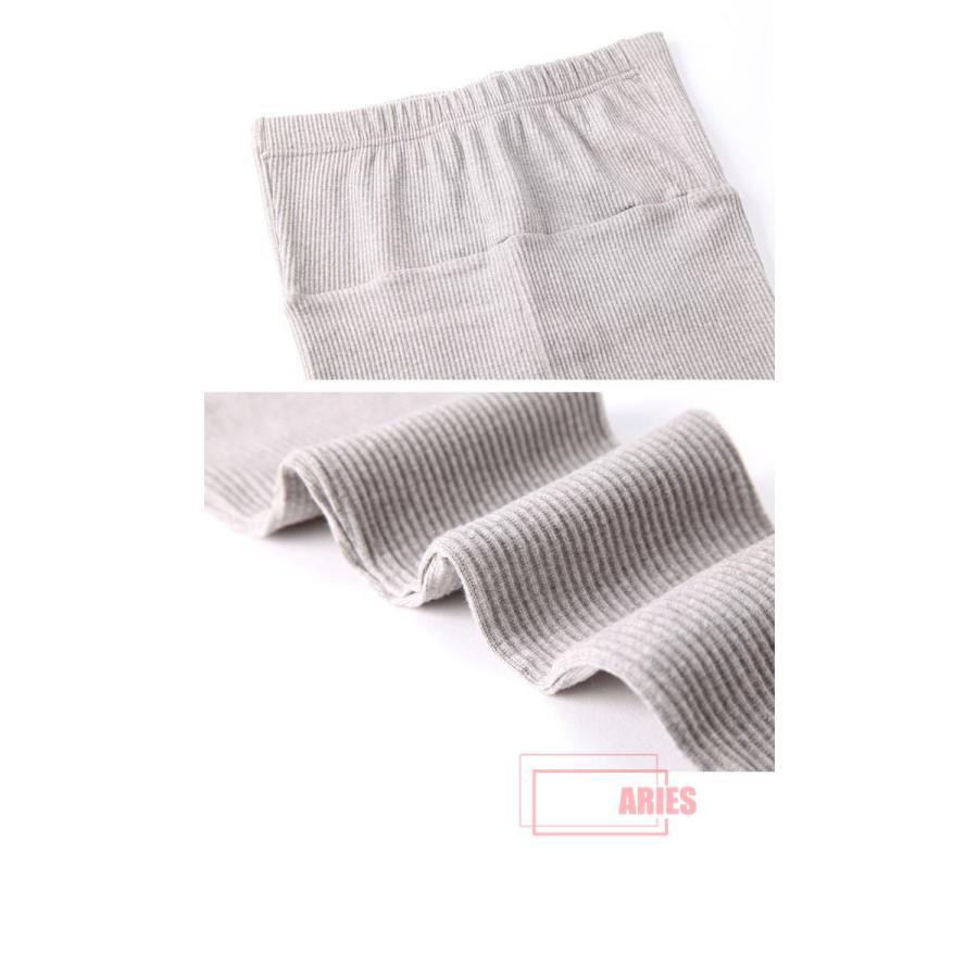 5色バリエーション レディース レギンス マタニティ リブレギンス スパッツ ストレッチ 妊婦 ズボン 保暖 マタニティファッション  ウエスト調節BIU|cosplayshop|04