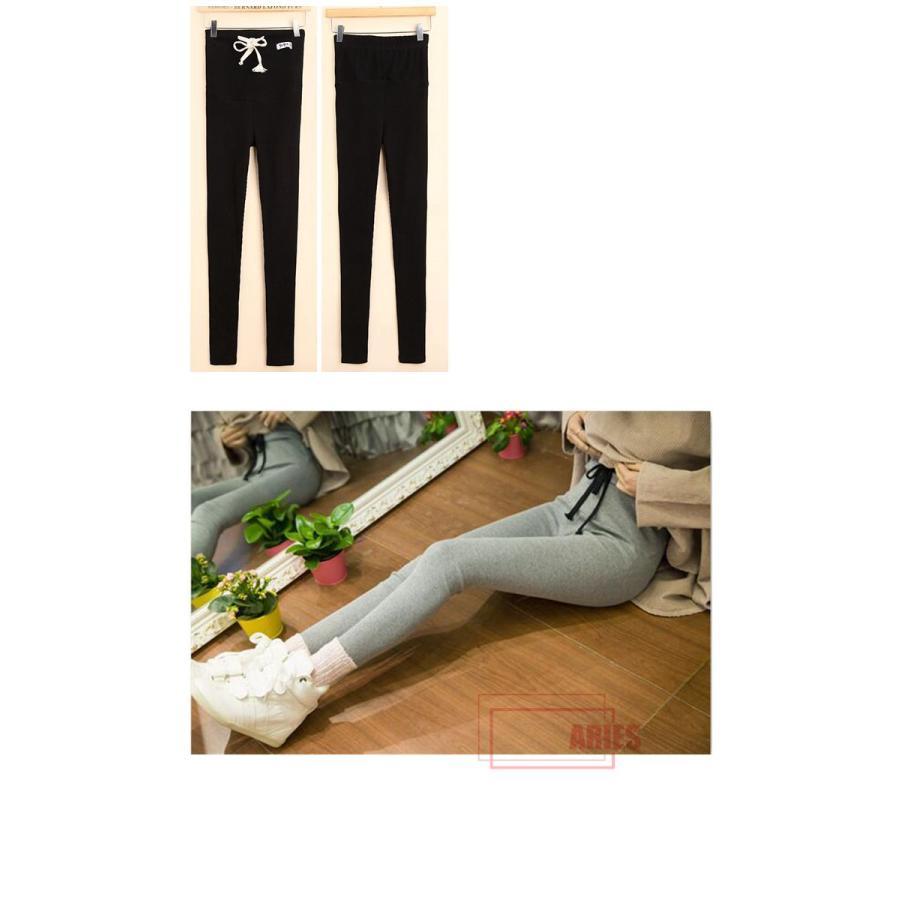 5色バリエーション レディース レギンス マタニティ リブレギンス スパッツ ストレッチ 妊婦 ズボン 保暖 マタニティファッション  ウエスト調節BIU|cosplayshop|06