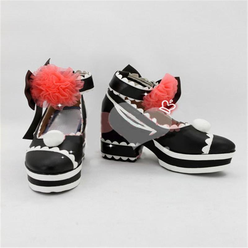 VOCALOID ボーカロイド MIKU 初音ミク風 コスプレブーツ コスプレ靴 cosplay イベント パーティー