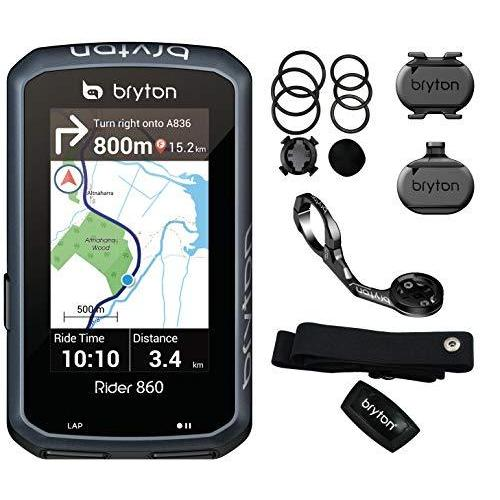 BRYTON(ブライトン) RIDER860T GPS サイクルコンピューター トリプルセット(ケイデンス·スピード·心拍センサー付)