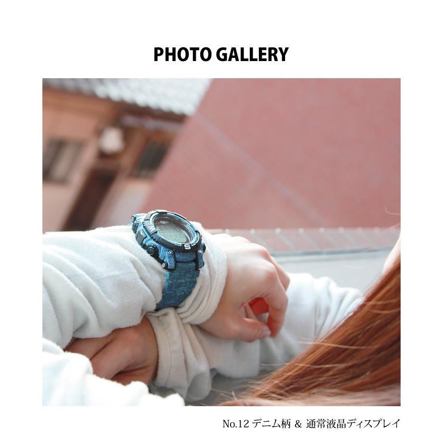 腕時計 メンズ デジタル 時計 ソーラー 100m防水 ミリタリーウォッチ|courage|16