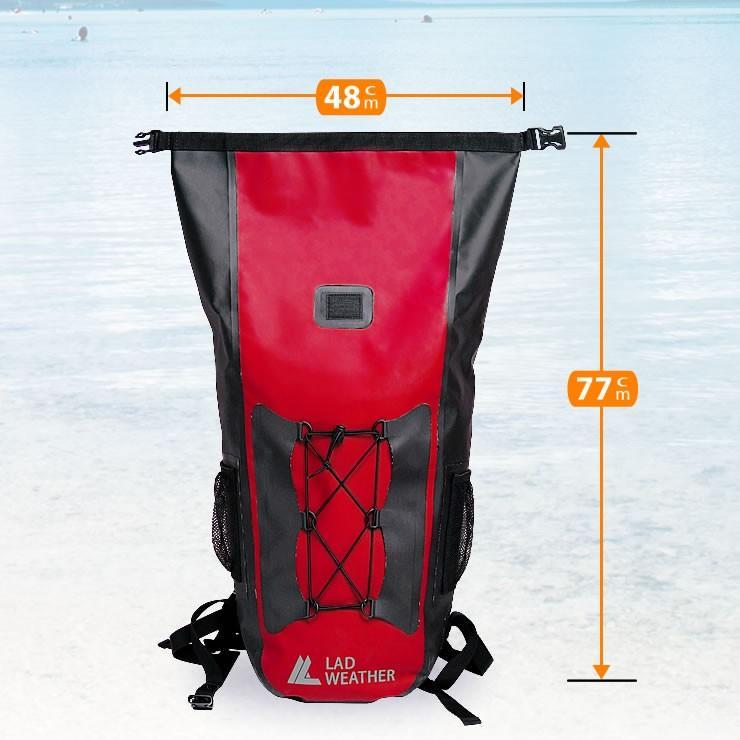 防水バッグ 防水 リュック メンズ 完全防水 大容量 40L リュックサック 防災リュック courage 14