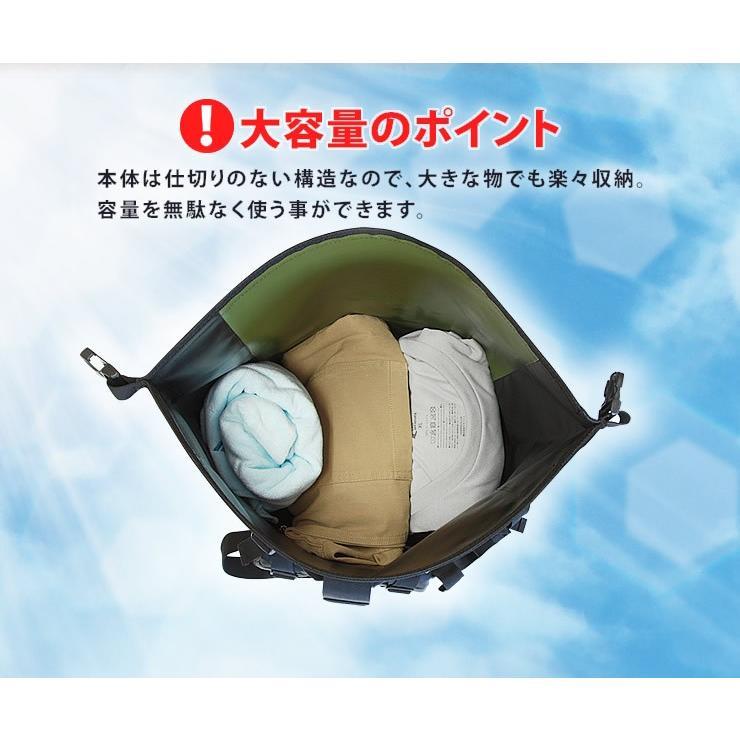 防水バッグ 防水 リュック メンズ 完全防水 大容量 40L リュックサック 防災リュック courage 07