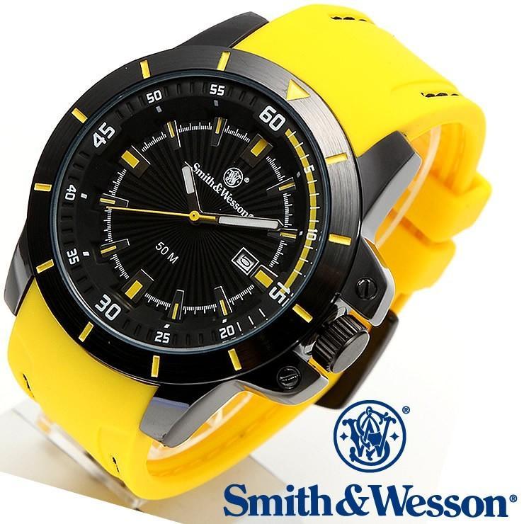 スミス&ウェッソン Smith & Wesson ミリタリー腕時計 SWW-397-YW [正規品]