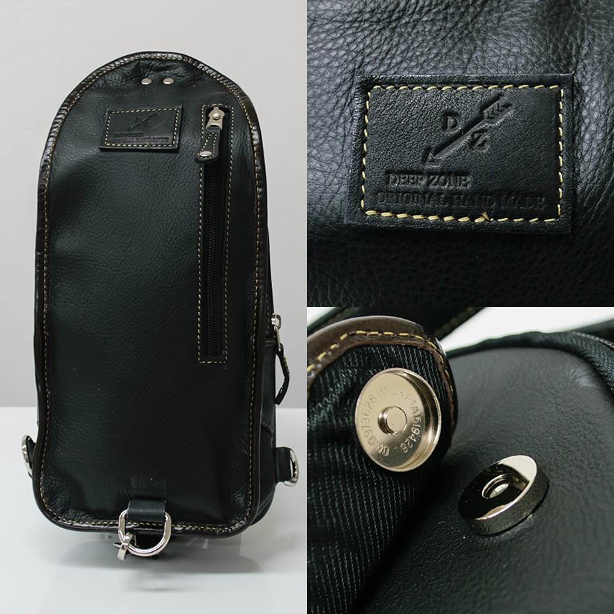 ボディバッグ メンズ 本革 ブラック キルティング オイルレザー B5サイズボディバッグ レザー オイルシュリンク レザー プレゼント ギフト|cowbell|06