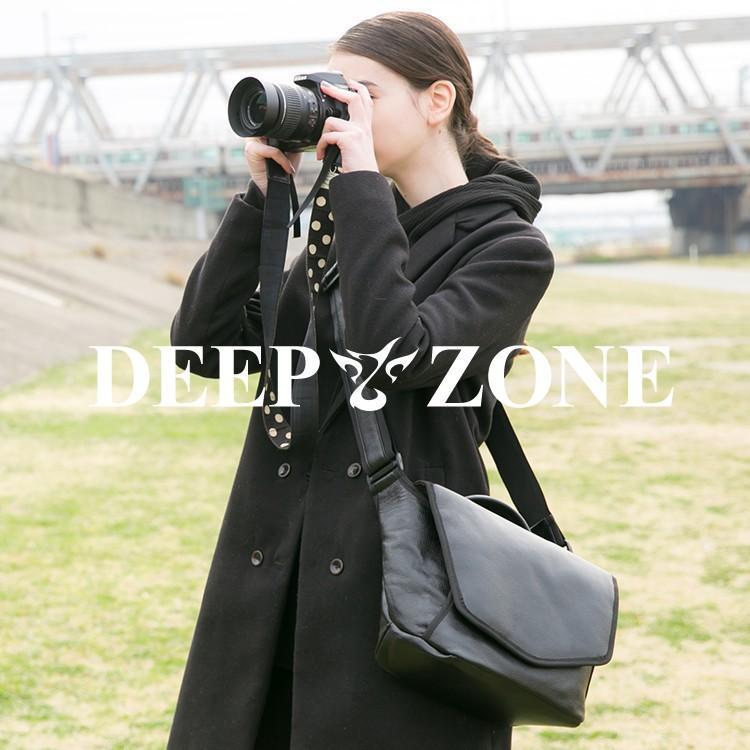ショルダーバッグ カメラバッグ メンズ レディース ユニセックス 本革 レザー レザー シュリンクレザー Deep Zone プレゼント ギフト|cowbell
