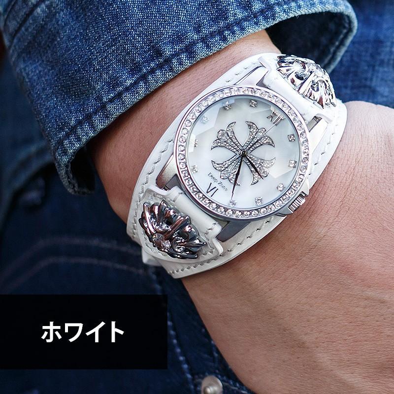 腕時計 メンズ 本革 イタリンレザー ベルト シェル クロス 文字盤 星コンチョ カジュアル腕時計 cowbell 10