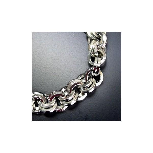 ウォレットチェーン レザーウォレット メタリックメタルダブルリングデザイン ウォレットチェーン [WHC-046] プレゼント ギフト|cowbell|05