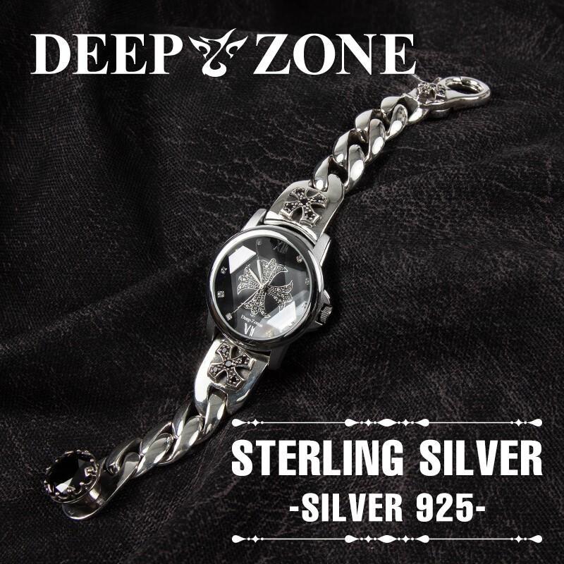 メンズ 腕時計 シルバー925製 ブレスレットウォッチ 送料無料 プレゼント ギフト cowbell