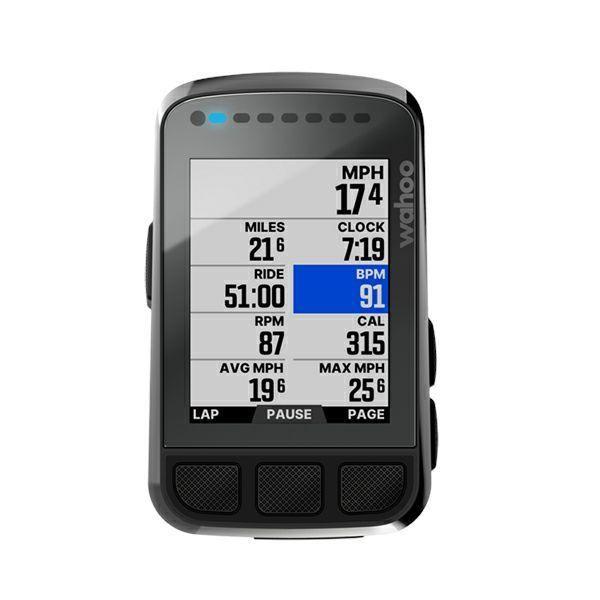 Wahoo ワフー ELEMNT BOLT GPS Bike Computer WFCC5 エレメントボルト GPSバイクコンピューター WFCC5 サイクルコンピューター|cozybicycle