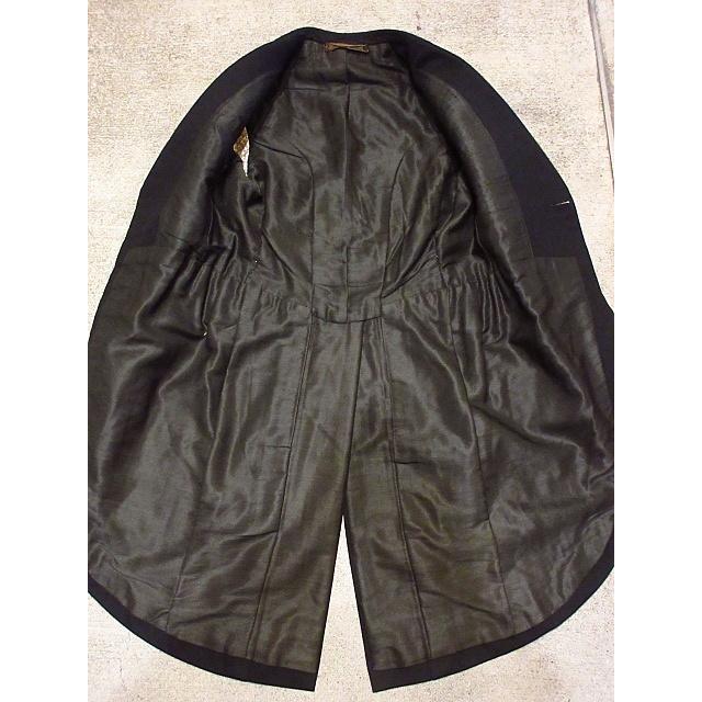 ビンテージ20's●DAVIS BRYAN & COモーニングコート黒●210224s5-m-ct 1920sメンズブラックフォーマルテーラードアンティーク|cozyvintage|07