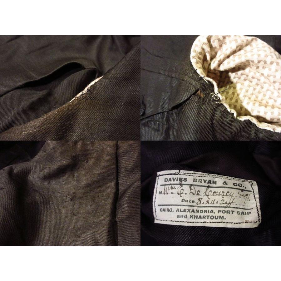 ビンテージ20's●DAVIS BRYAN & COモーニングコート黒●210224s5-m-ct 1920sメンズブラックフォーマルテーラードアンティーク|cozyvintage|08