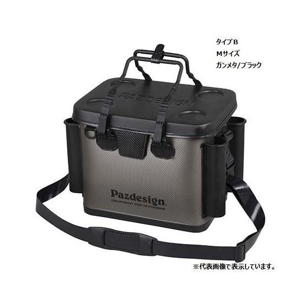 Pazdesign(パズデザイン)/ PSLバッカンIV・タイプB PAC-263 ブラックレッド M