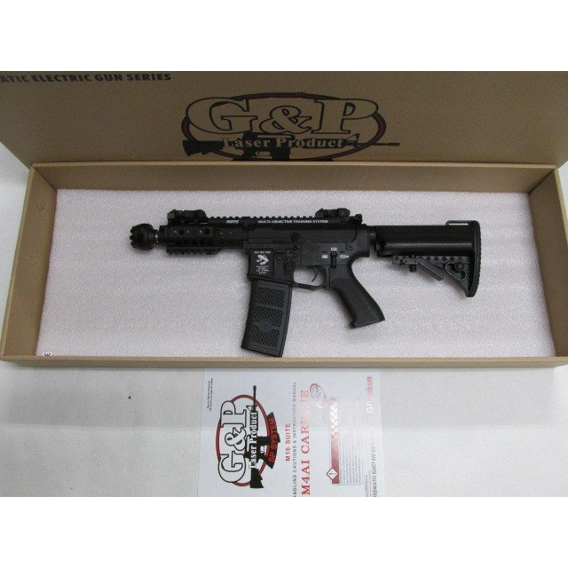 送料無料!G&P MOTS 5 Inch RAS REG (Rapid Electric Gun, 黒)電動ガン新品