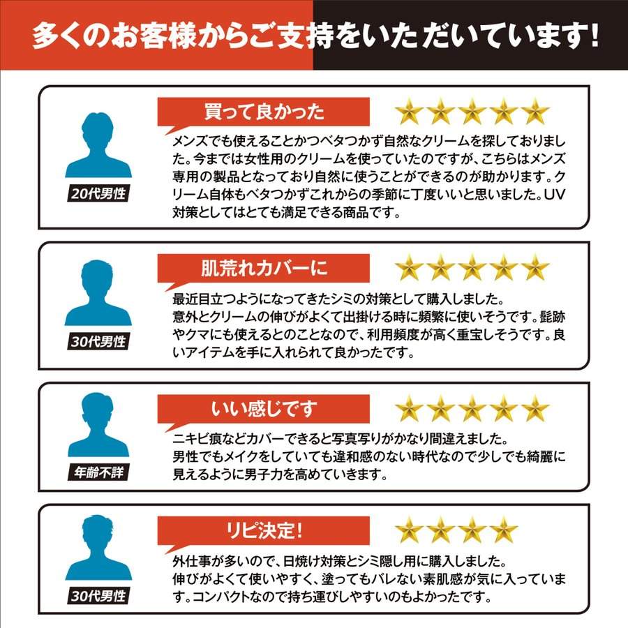 メンズBBクリーム バレない素肌感 メンズベーシック 日本産  シーアール・ラボ(CR-lab)  20g cr-lab 09