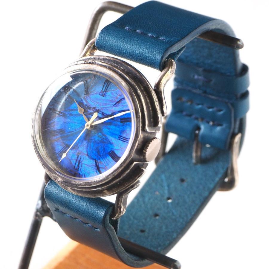 高品質の激安 手作り腕時計 ハンドメイド Gothic Laboratory(ゴシックラボラトリー) リアルモルフォ 本物の青い蝶の翅 シルバー925 M/青い蝶 M シルバー925 Gothic/青い蝶, シアターハウス:3c4d2fc8 --- airmodconsu.dominiotemporario.com