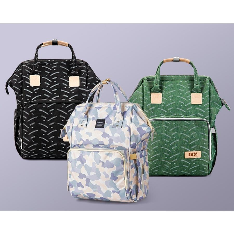 マザーズバッグ リュック レディース バッグ マザーバッグ ママリュック がま口 フック 大容量 軽量 A4 多機能 撥水 おしゃれ 可愛い ベビー 鞄  送料無料|cran|19