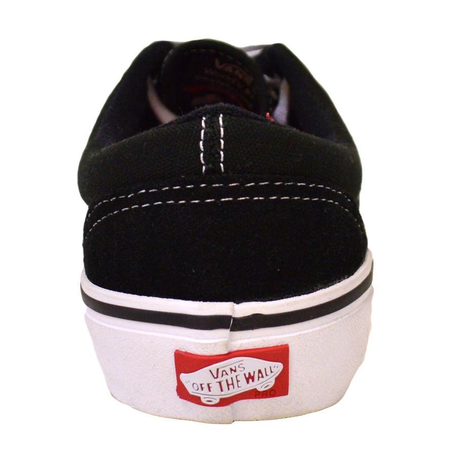VANS スニーカー ERA PRO バンズ 黒 白  22.5cm〜28cm BLACK WHITE GUM スケボー メンズ レディース スケシュー 靴 エラプロ オールドスクール crass 04