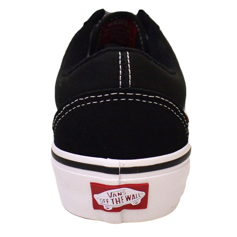 VANS old skool PRO BLACK / WHITE スニーカー バンズ オールドスクール スケボー スケートボード スケシュー スウェード|crass|04