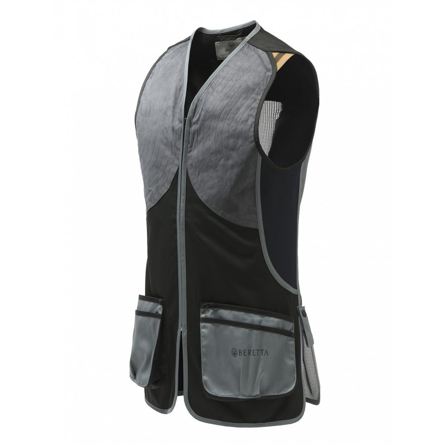 DT11 Microsuede Slide Vest - 黒