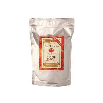代引·同梱不可 ケベックメープルシュガー顆粒 2kg×6袋