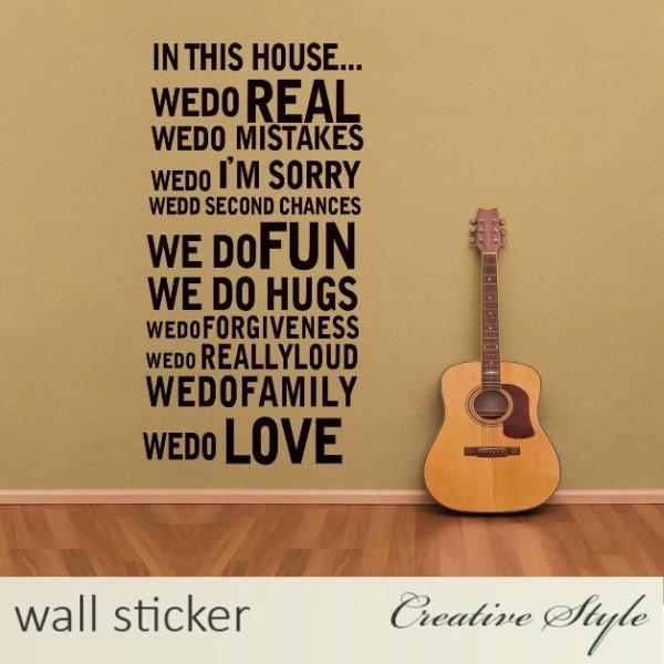 ウォールステッカー 英文(WEDO) 北欧 英字 アル... - Creative Style