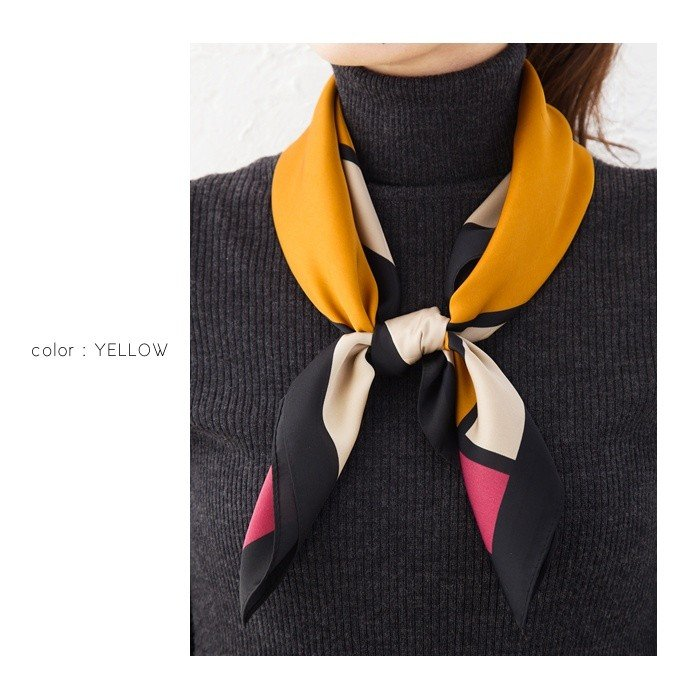 結び方 スカーフ