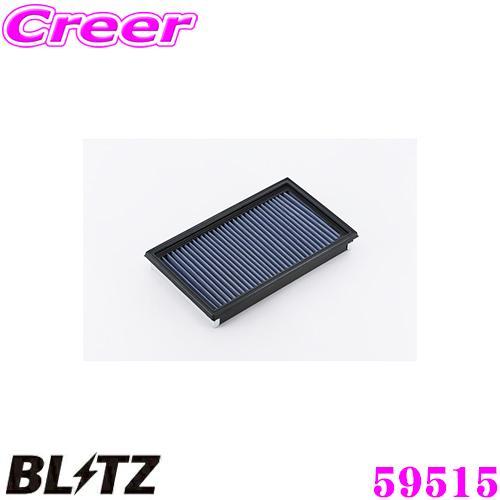 在庫あり即納 BLITZ ブリッツ SN-24B No.59515 迅速な対応で商品をお届け致します SUS POWER AIR GDA GDB インプレッサ 新発売 サスパワーエアフィルターLM LM 用 スバル FILTER