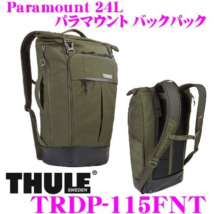 ae48d3b3b7fe 日本正規品 THULE THULE スーリー TRDP-115FNT Paramount 24L スーリー パラマウント バックパック  Paramount カーキ :th-trdp-115fnt:クレールオンラインショップ