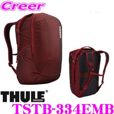e3fa835ec79b 日本正規品 THULE TSTB-334EMB Subterra Subterra Travel Backpack 34L 34L  TSTB-334EMB レッド スーリー サブテラ トラベル バックパック :th-tstb-334emb:クレール ...