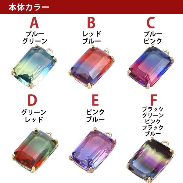 グラデーション クリスタル ガラス ネックレス レディース メンズ チェーン 結婚式 パーティ|creimastudio|08