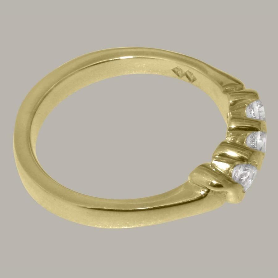 【高額売筋】 英国製(イギリス製) K10 レディース イエローゴールドキュービックジルコニア レディース リング 指輪 各種 各種 サイズ サイズ あり, コモdeすこやか:085f69b9 --- airmodconsu.dominiotemporario.com