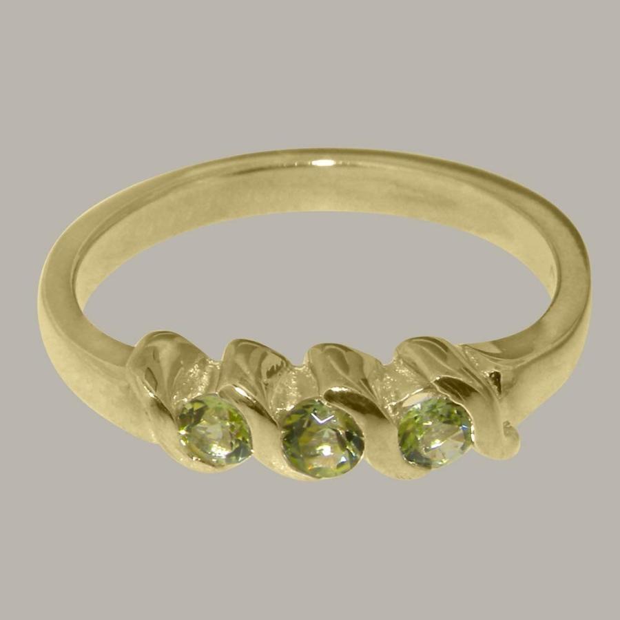大割引 英国製(イギリス製) K10 イエローゴールド 天然 K10 ペリドット レディース 天然 あり リング 指輪 各種 サイズ あり, しずおかけん:89536ca7 --- airmodconsu.dominiotemporario.com